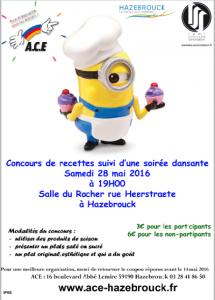 concours de cuisine à hazebrouck - action catholique des enfants